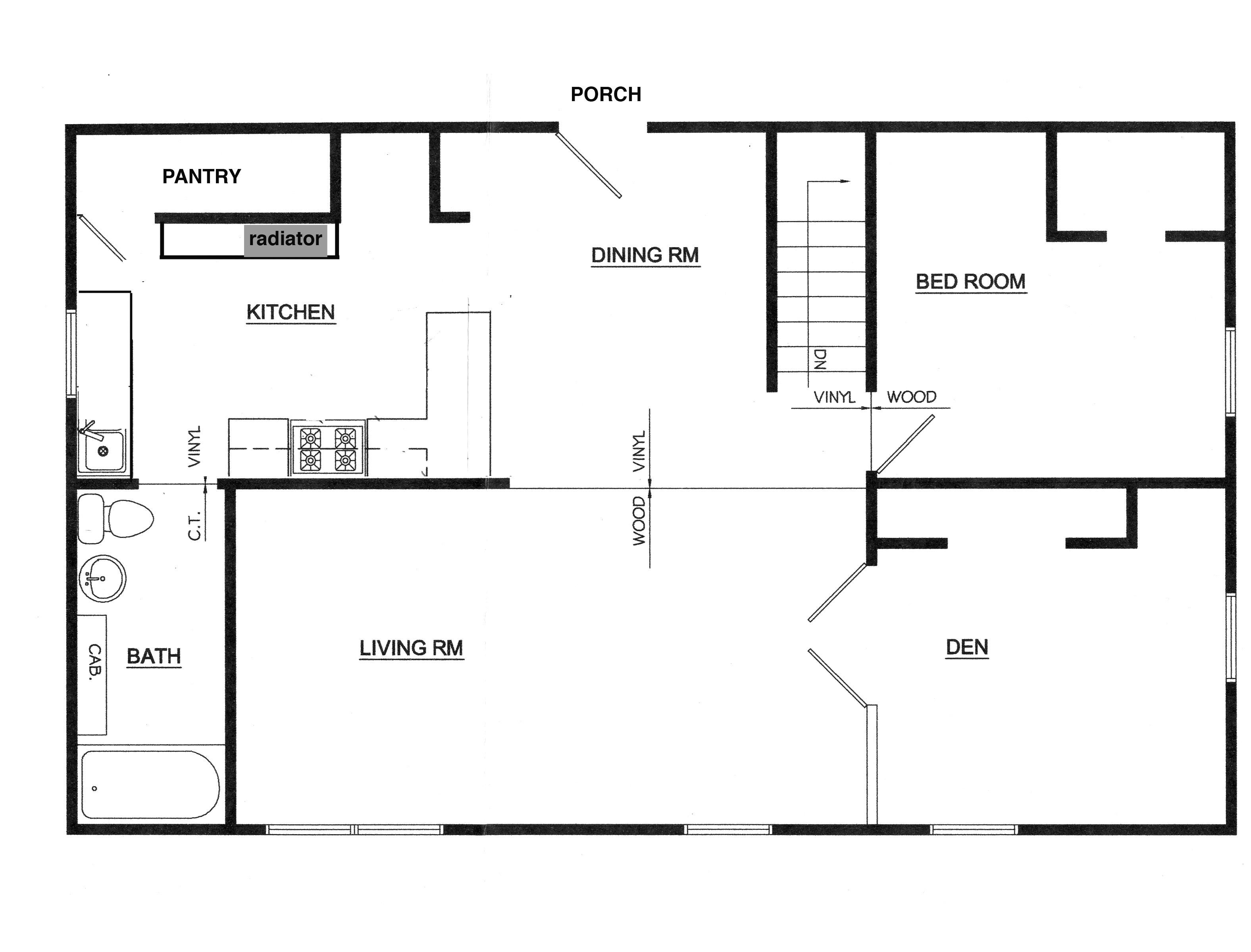 Is Building Permit Required To Replace Kitchen Cabinets Floor Plans | This Odd House
