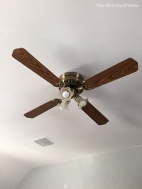 ceiling fan | This Old Colonial Home