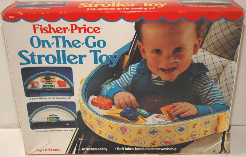 Toddler Half Years 1251 Fisher Price On The Go Stroller Toy