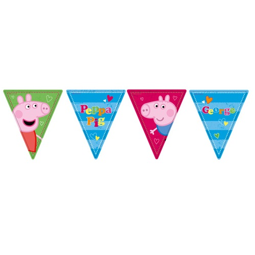 PEPPA PIG BIRTHDAY BANNER This Party Started