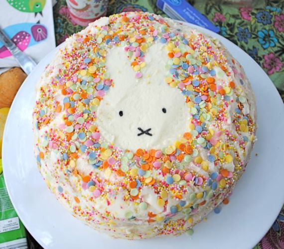 Miffy Rabbit Cake