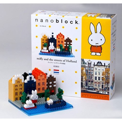 kawada-nanoblock-miffy-and-the-streets-of-holland