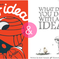 a pair of picture books about ideas and the creative process (+ giveaway!)