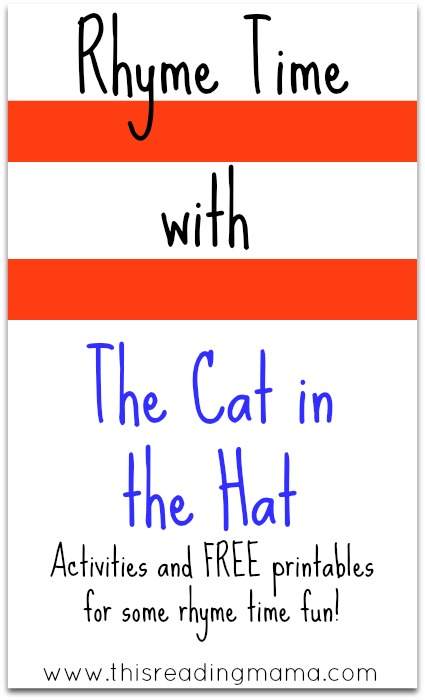 Rhyme Time with The Cat in that Hat from This Reading Mama