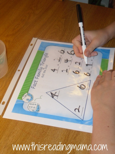 Multiplication Fact Family Templates | Search Results | Calendar 2015