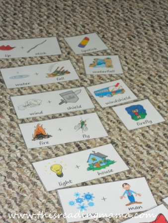 Compound Word Matching Game   This Reading Mama
