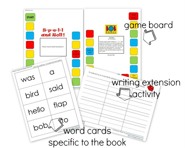 Spell and Roll Word Game   This Reading Mama