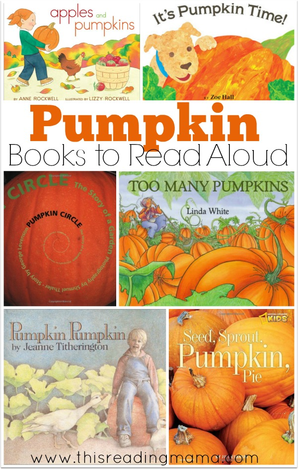 Pumpkin Books to Read Aloud - This Reading Mama