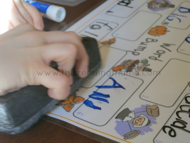 erase another player's word and write your own on the game board | This Reading Mama