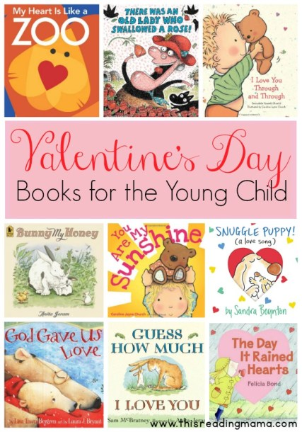 Valentine's Day Books for the Young Child