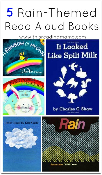 5 Rain-Themed Read Aloud Books | This Reading Mama