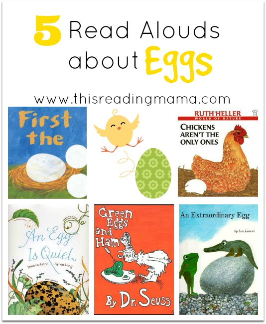 5 read alouds about eggs