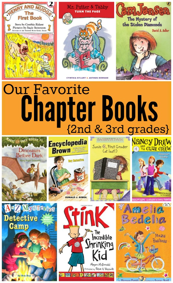 Favorite Chapter Books for 2nd and 3rd grade - This Reading Mama ...