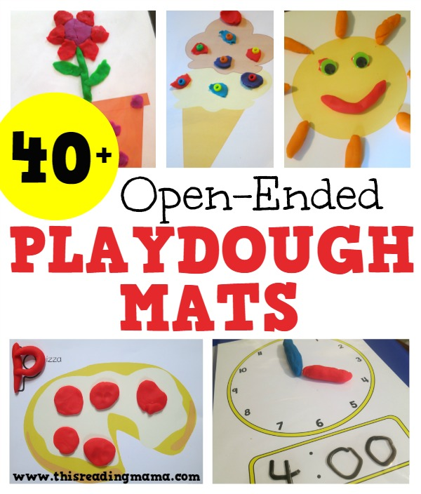 40+ Open-Ended Playdough Mats for Learning - This Reading Mama