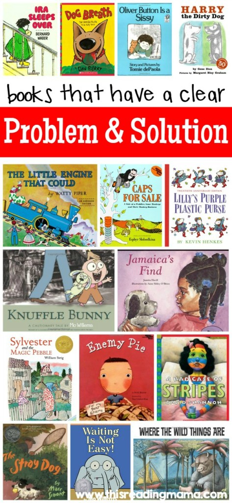 Picture Books with a Clear Problem and Solution