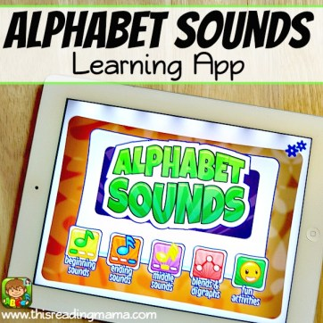 Alphabet Sounds Learning App - This Reading Mama