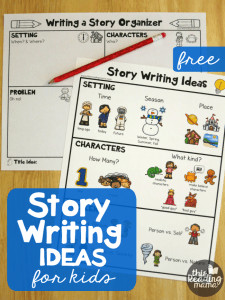Story Writing Ideas for Kids {FREE Pack}