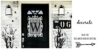 Four Ideas For Inexpensive Halloween Door Decorations ...