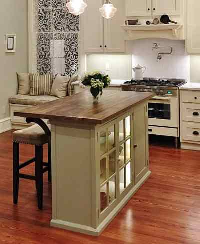 Alternative Programming or How to DIY a Kitchen Island From a Cabinet - Thistlewood Farm