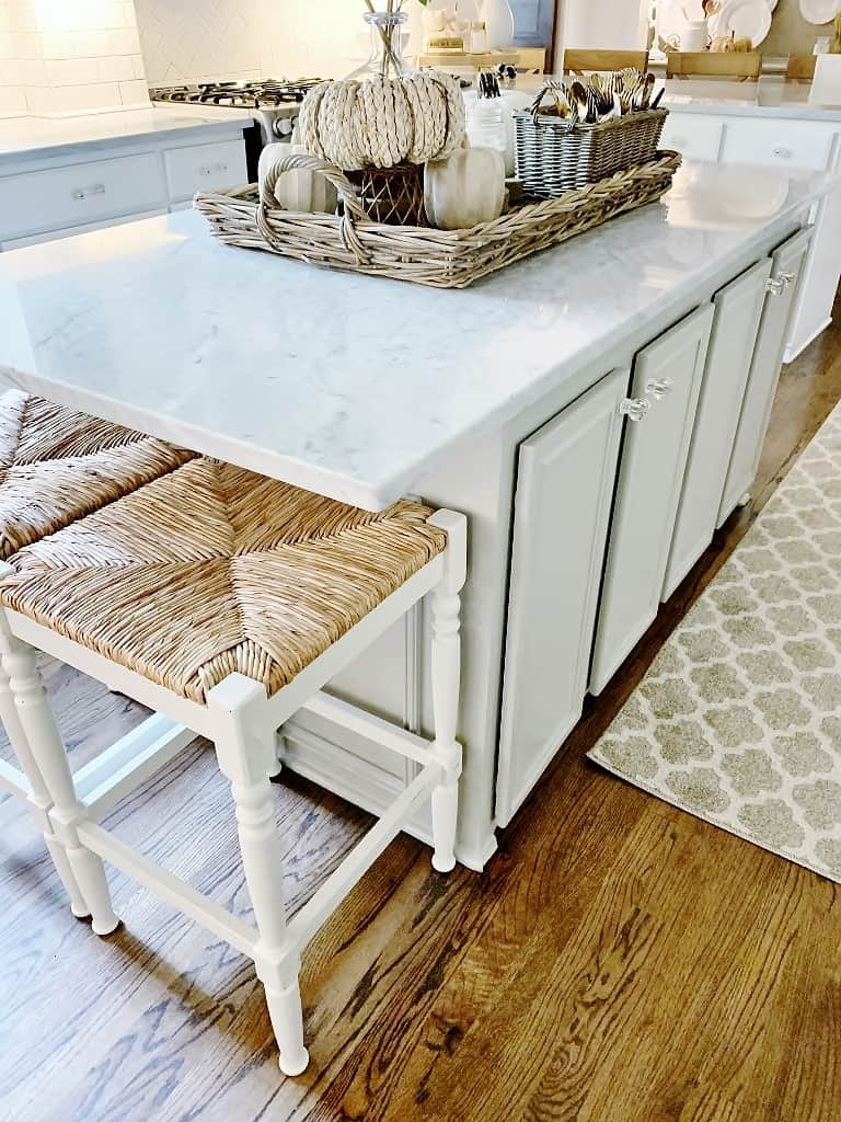 How To Paint A Kitchen Island Thistlewood Farm