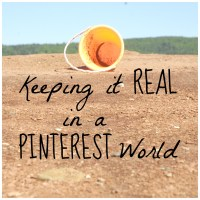 Keeping It Real in a Pinterest World: The Refreshment of a Mess