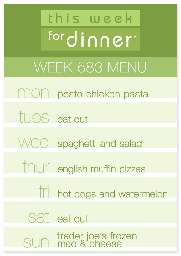 This Week for Dinner This Week for Dinner - Weekly Meal Plans - weekly dinner meal plans