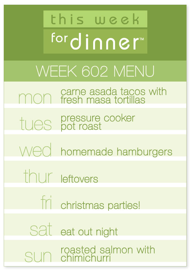This Week for Dinner This Week for Dinner - Weekly Meal Plans