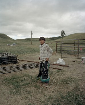 Kenneth, 12, prepares for to compete in the children's rodeo the Lodgepole Powwow. During the rodeo, Kenneth will ride on horseback and catch a running calf with his lasso. The winner is the child who ropes their calf the quickest. Kenneth is more or less raising himself while living in his grandparents house, because his parents are not able to care for him. Kenneth was exceptionally ill when he was born and doctors said that he wouldn't make it more than a couple months.