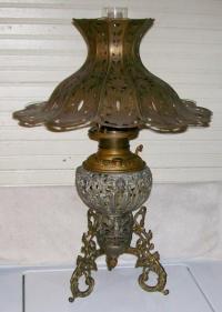 Unique M&W 94 Matthews Willard Banquet Parlor Oil Lamp ...