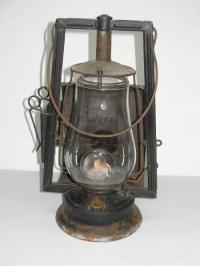 Antique Dietz Lantern | Car Interior Design