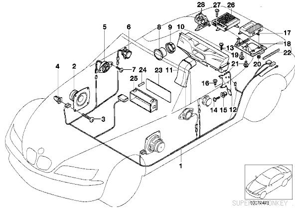 bmw hifi sound system wiring diagram
