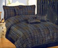 Navy And Gold Comforter Set | Autos Post