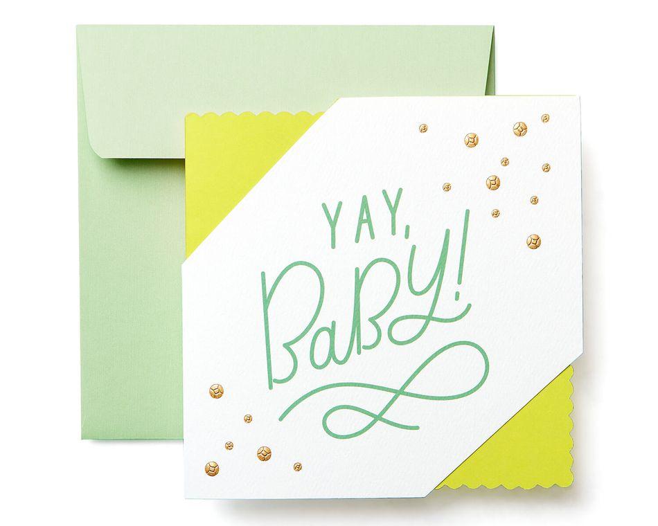 Yay New Baby Congratulations Greeting Card - American Greetings