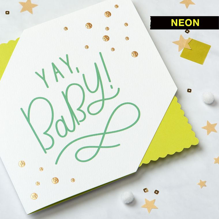 Yay New Baby Congratulations Greeting Card - American Greetings
