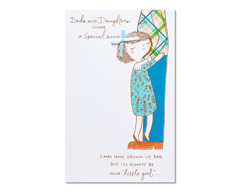 your little girl father\u0027s day card from daughter - American Greetings