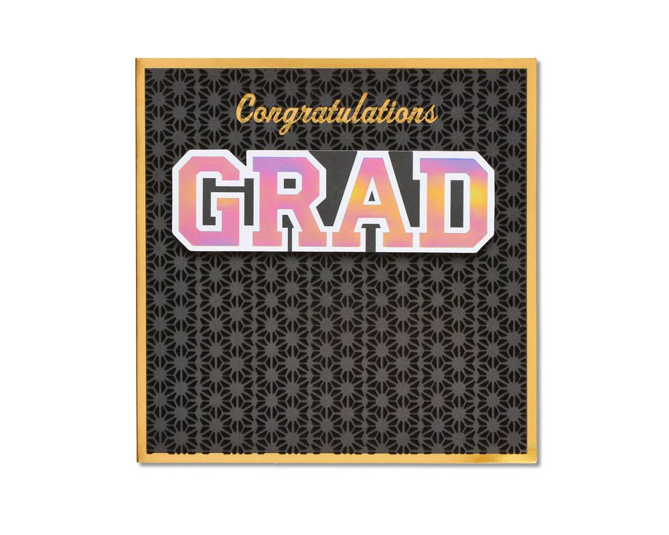 Congratulations Grad Graduation Card - American Greetings