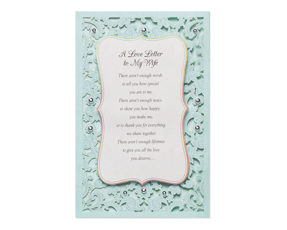 Love Letter Mother\u0027s Day Card for Wife - American Greetings