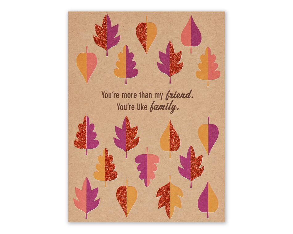Leaves Thanksgiving Card for Friend - American Greetings