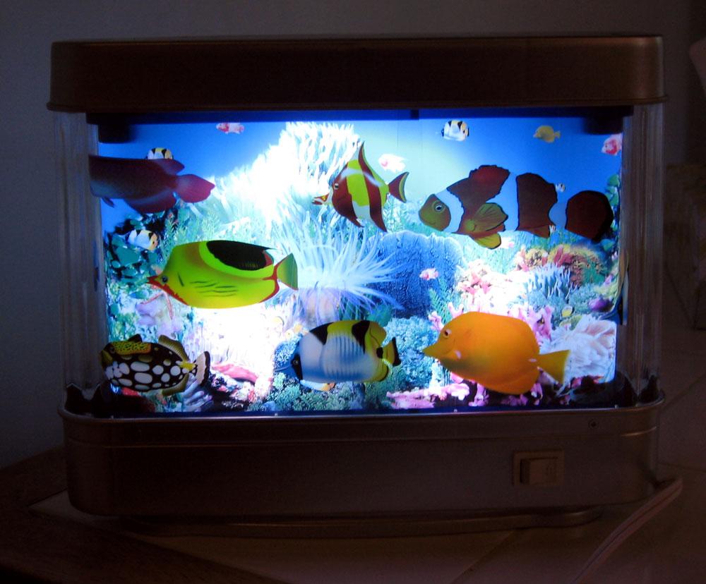 Aquarium Motion Lamp Beautiful Perfect For Kids Room F Ebay