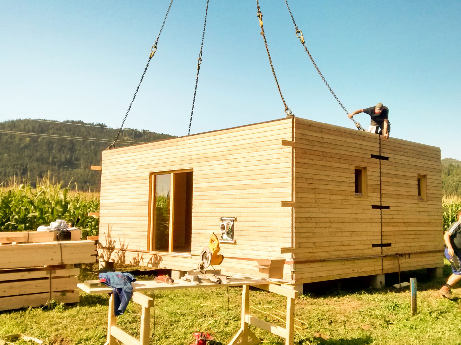 Container Haus Anbieter österreich Mobilie Thoma Holz