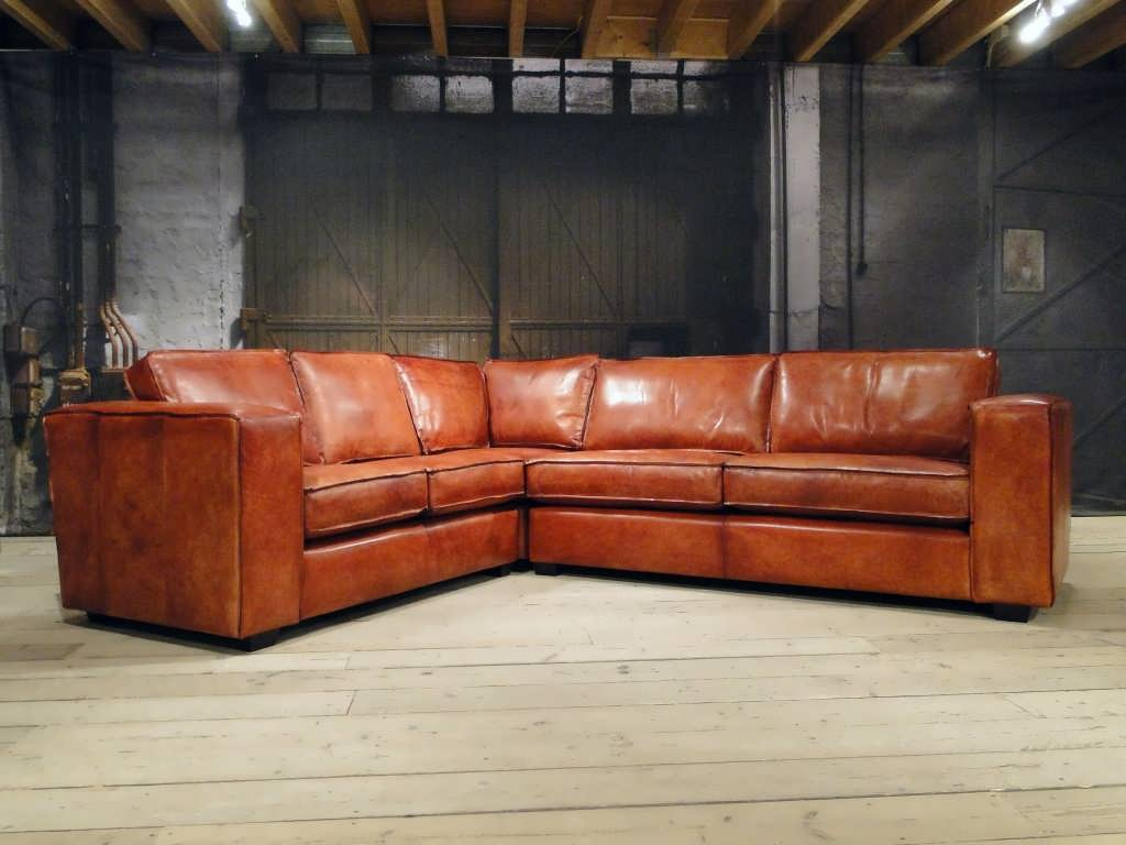 Chesterfield Sessel Vintage Leren Bank Vintage Look - Tgwonen
