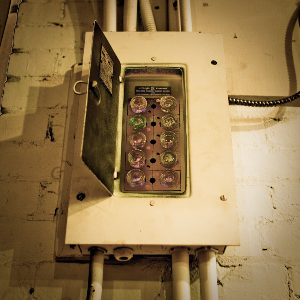 a penny in fuse box