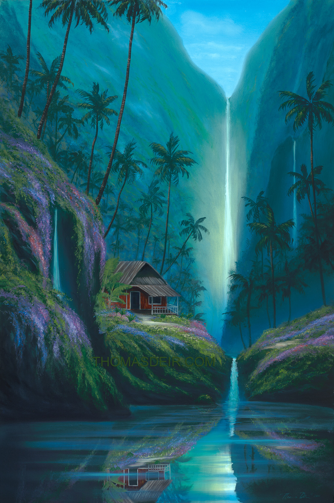 Tropical Artwork Hawaii Art Paintings