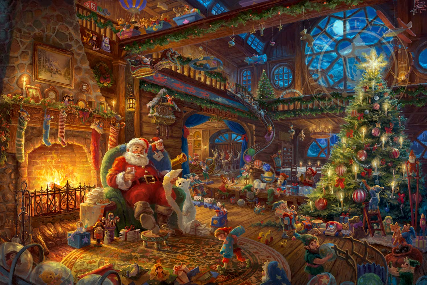 Justice League Movie Hd Wallpapers Santa S Workshop The Thomas Kinkade Company