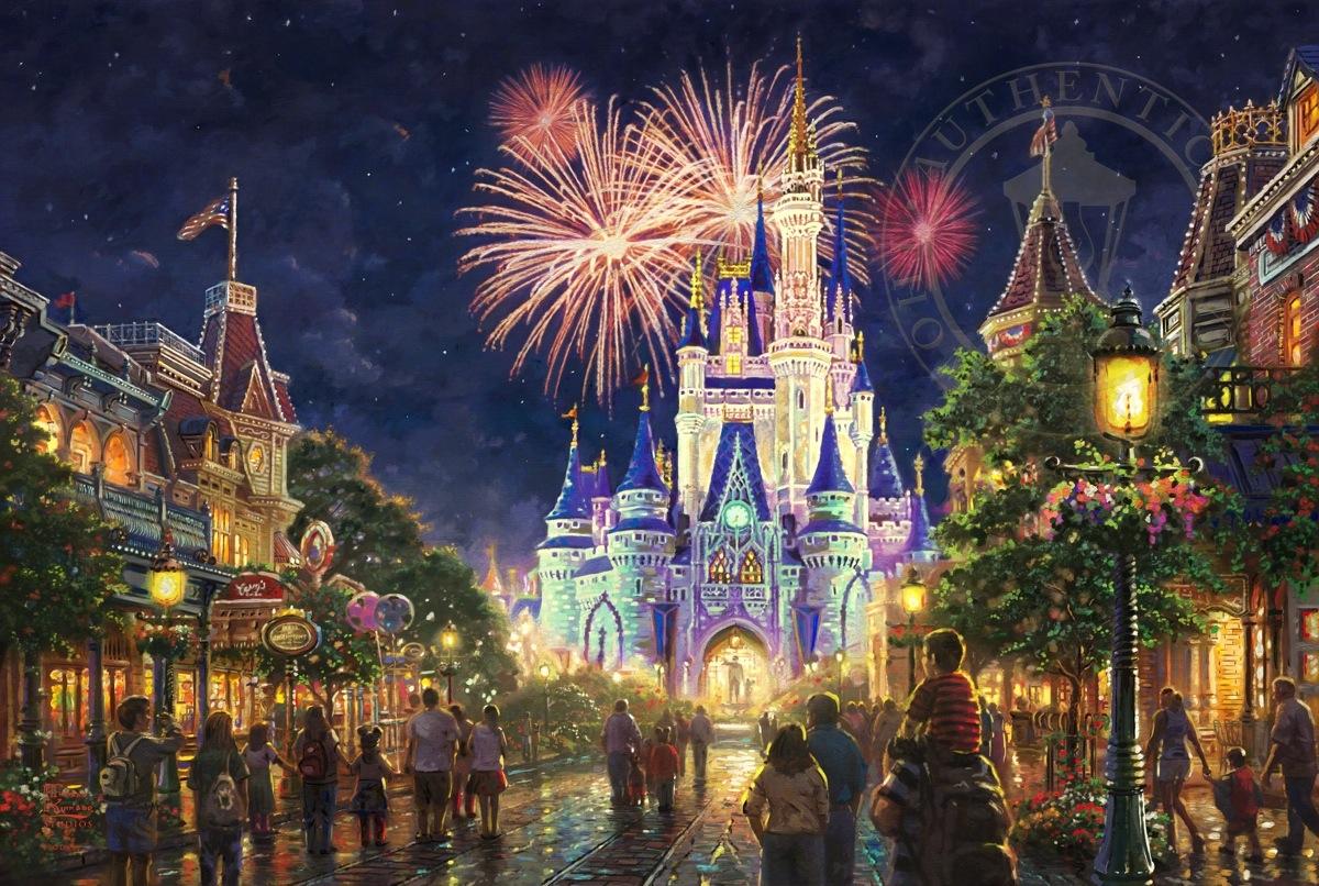 Main Street Usar Walt Disney Worldr Limited Edition