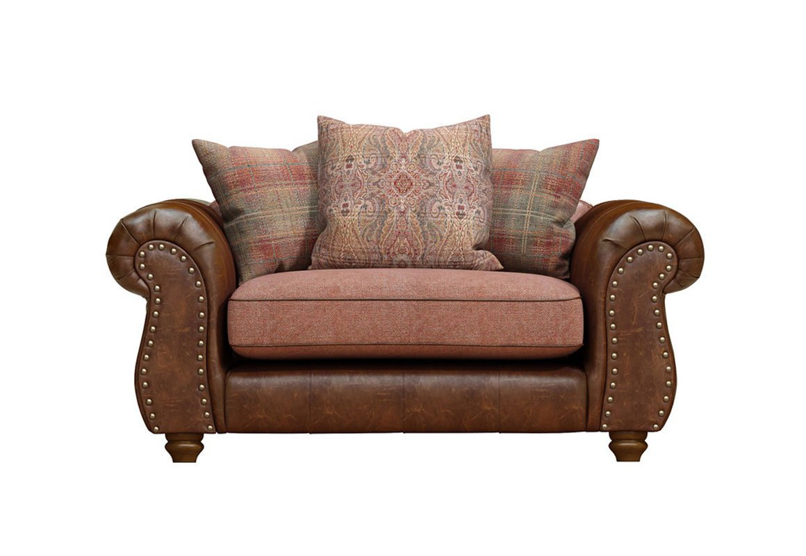 Wilmington Leather Loveseat Sale Now On