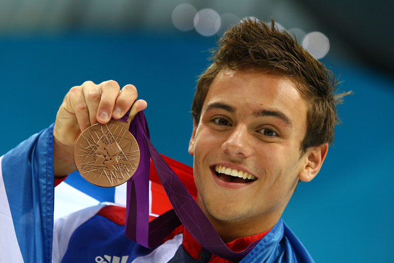 Tom Daley Hard On Tom daley olympic medal