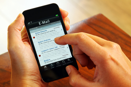 Received a badly formatted email on your mobile? 75 percent of you ...