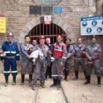 Bob Moriarty, with your TCR author, and Prophecy Development team in Bolivia earlier this year at Pulacayo Silver Mine
