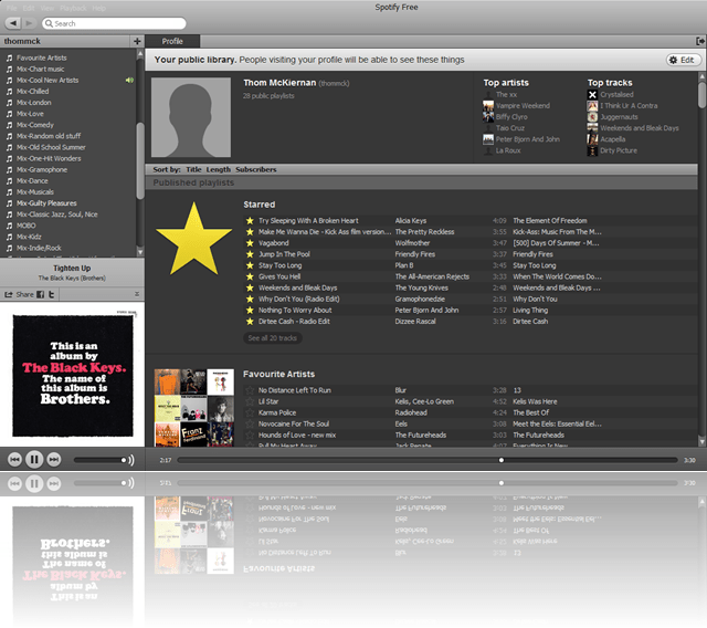 Sorting Spotify – A way to make your playlists more manageable